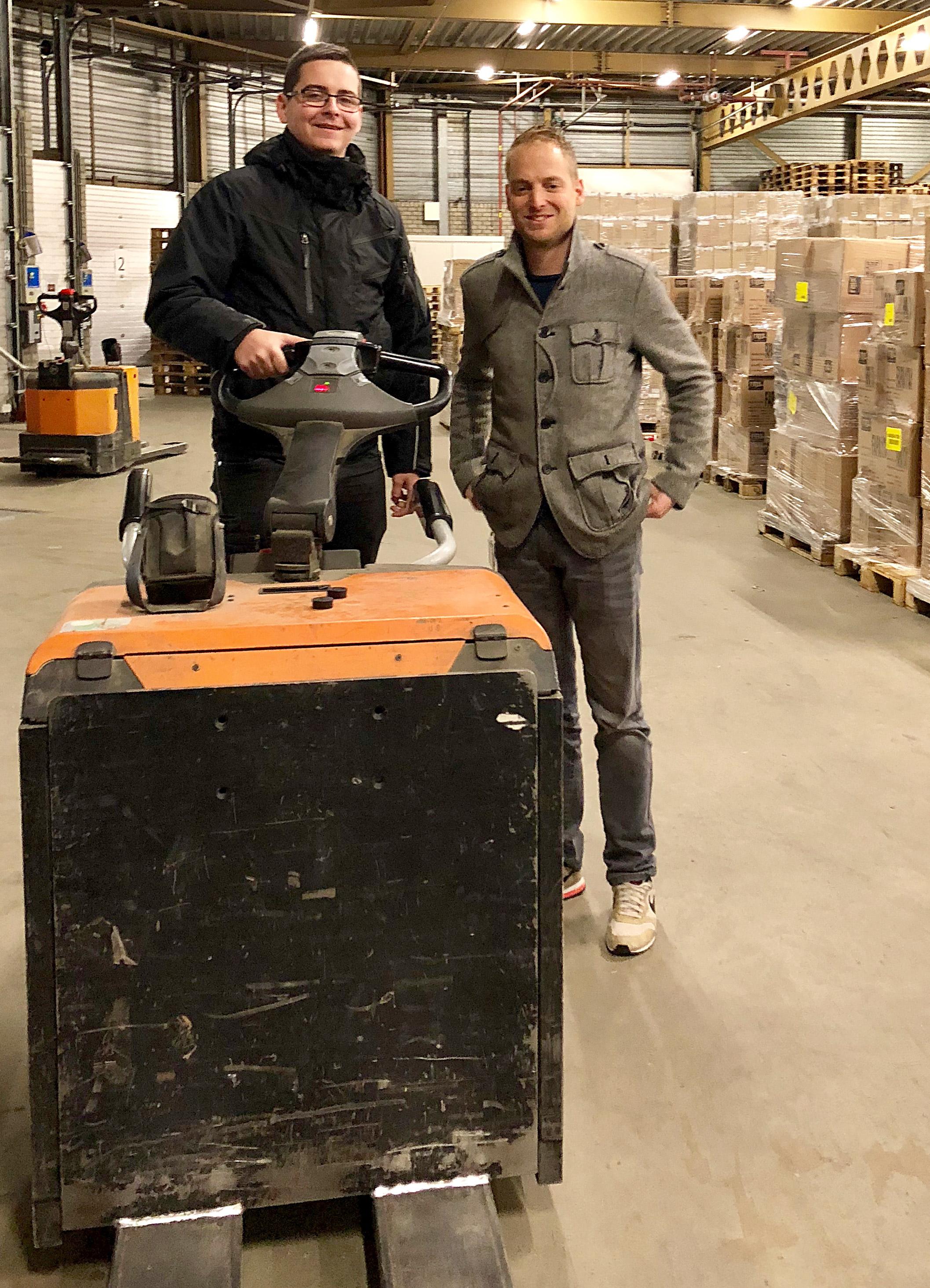 Maikel Mosink en Martijn Joosten